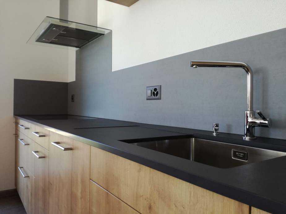 cuisine granit noir